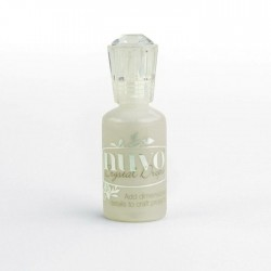 Nuvo Crystal Drops Oyster Grey