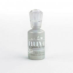 Nuvo Crystal Drops Metallic Silver Lining