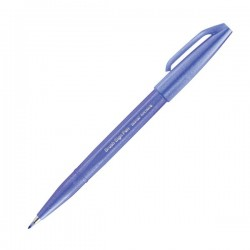 Pentel Sign Brush Pen Blue Violet