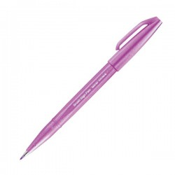 Pentel Sign Brush Pen Pink Purple