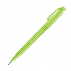 Pentel Sign Brush Pen Light Green