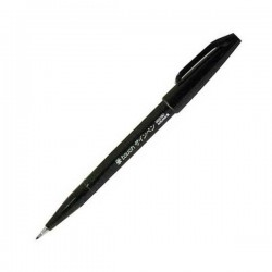 Pentel Touch Sign Pen - Black
