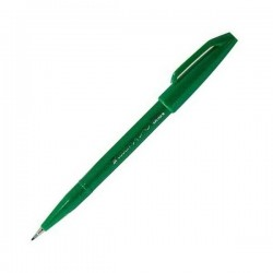 Pentel Touch Sign Pen - Green