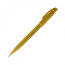 Pentel Touch Sign Pen - Ochre