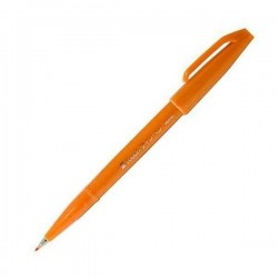 Pentel Touch Sign Pen - Orange