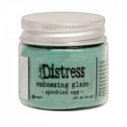 DISTRESS EMBOSSING GLAZE - SPECKLED EGG