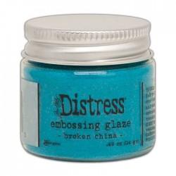 DISTRESS EMBOSSING GLAZE - BROKEN CHINA