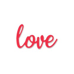 FUSTELLA LEGGERA - LOVE