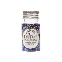 PAILLETTES NUVO - PERWINKLE BLUE