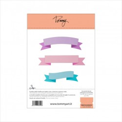 TOMMY ART - RIBBON BANNERS - FUSTELLA