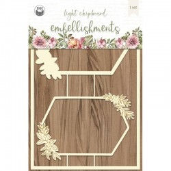 P13 - LIGHT CHIPBOARD EMBELISHMENTS ALWAYS AND FOREVER 03