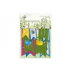 P13 - DECORATIVE TAGS - THE GARDEN OF BOOK 02