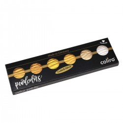 COLIRO PEARL COLOR SET - GOLD & SILVER