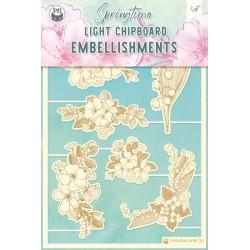 P13 - LIGHT CHIPBOARD EMBELISHMENTS SPRINGTIME 02