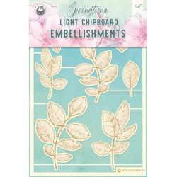P13 - LIGHT CHIPBOARD EMBELISHMENTS SPRINGTIME 01