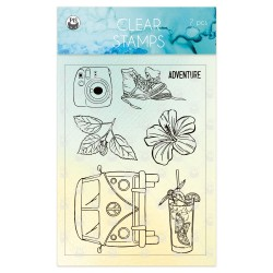 P13 - SUMMER VIBES - CLEAR STAMPS