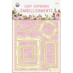 P13 - STITCHED WITH LOVE - LIGHT CHIPBOARD 45