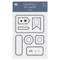 P13 - JOURNAL STAMPS - LABELS