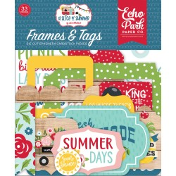 ECHO PARK - A SLICE OF SUMMER - FRAMES & TAGS - PREORDINE