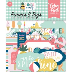 ECHO PARK - POOL PARTY - FRAMES & TAGS - PREORDINE