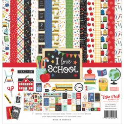 ECHO PARK - I LOVE SCHOOL COLLECTION KIT -  PREVENDITA
