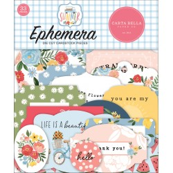 CARTA BELLA - SUMMER EPHEMERA - PREORDINE