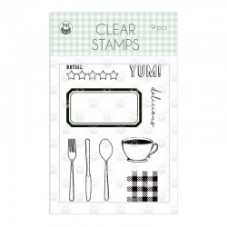 P13 - AROUND THE TABLE - CLEAR STAMPS