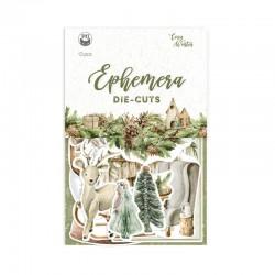 P13 - EPHEMERA SET COSY WINTER, 13PCS. - PREVENDITA