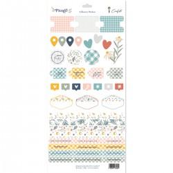 """Cocoloko -  Picnic - Set di stickers adesivi 6""""x12"""""""