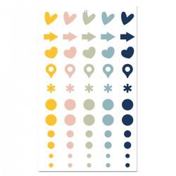 Cocoloko -  Picnic - Enamel Dots