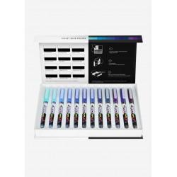 Pigment Decobrush Marker - VIOLET-BLUE SET