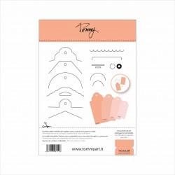 TOMMY ART – FUSTELLA TAG BUILDER (14 COMPONENTI)