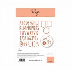 Tommy fustella – Alphabet (51 Componenti)