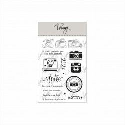 Tommy clear stamps – Foto 2 (15 elementi)