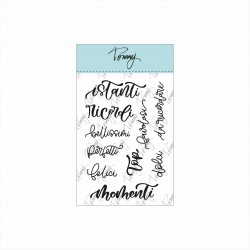 Tommy clear stamps – Momenti (10 elementi)