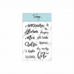 Tommy clear stamps – Insieme (13 elementi)