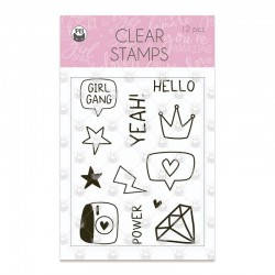 P13 - GIRL GANG - CLEAR STAMPS
