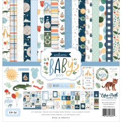 ECHO PARK - WELCOME BABY BOY COLLECTION KIT