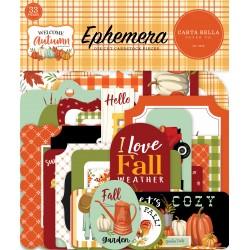 CARTA BELLA - WELCOME AUTUMN - EPHEMERA
