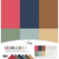 TOMMY ART PAPER PACK – COLORS & DOTS 2
