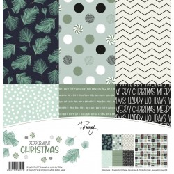 TOMMY ART PAPER PACK – PEPPERMINT CHRISTMAS