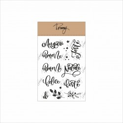 Tommy clear stamps – Buone feste