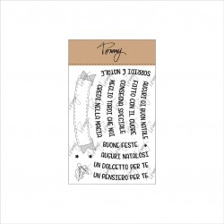 Tommy clear stamps – Auguri Natalosi