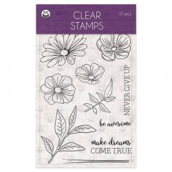 P13 - CLEAR STAMP - TIME TO RELAX 01 A6, 10PCS