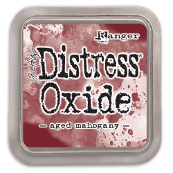 DISTRESS INK OXIDE - AGED MAHOGANY