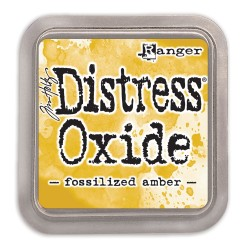 DISTRESS INK OXIDE - FOSSILIZED AMBER