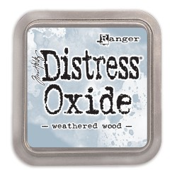 DISTRESS INK OXIDE - WEATHERED WOOD