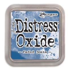 DISTRESS INK OXIDE - FADED JEANS