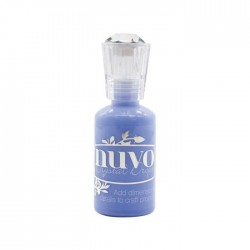 Nuvo Crystal Gloss Drops Berry Blue